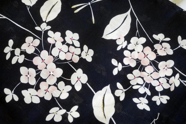 紫陽花の浴衣
