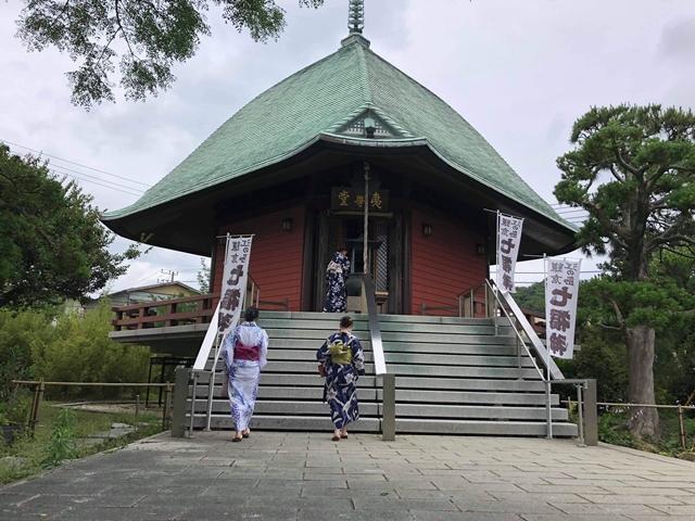 本覚寺の夷堂