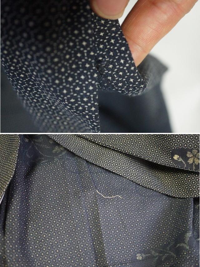 袖口と背縫い