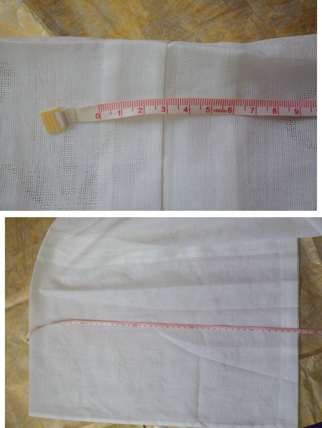 袖裄縫込み