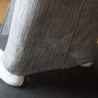 薄物の襦袢の裾丈