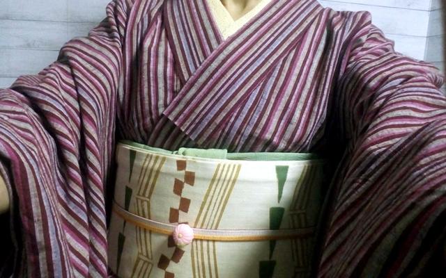 遠州木綿の着物
