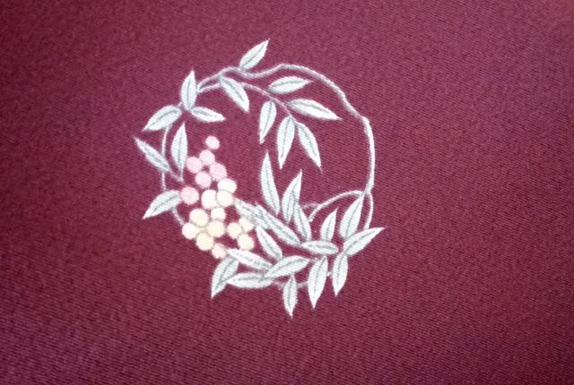 花丸紋 柄ゆき