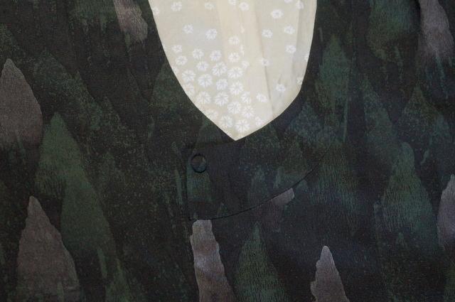 千代田衿木立柄