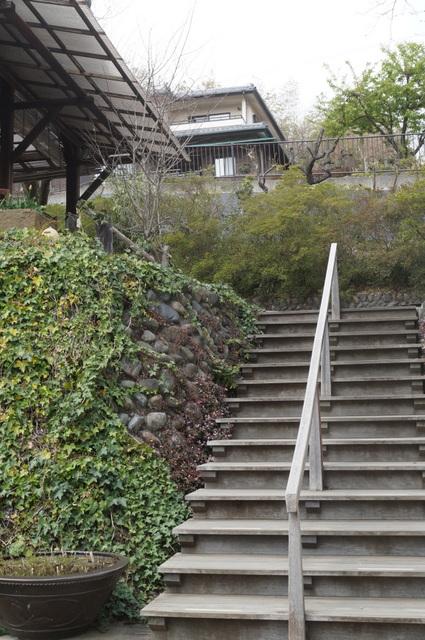 武相荘階段