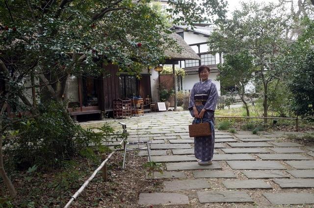 琉球絣の着物