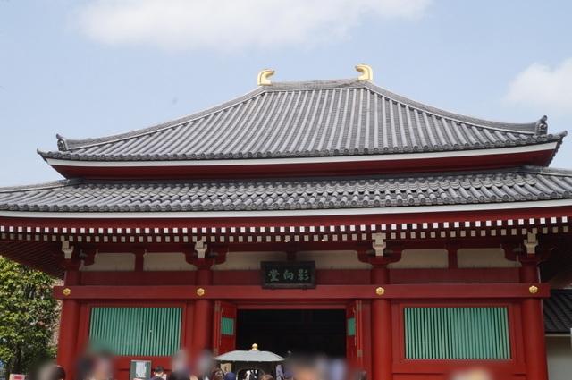 浅草寺向影堂