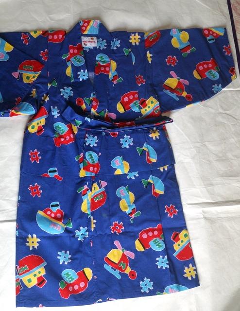 ミキハウス浴衣