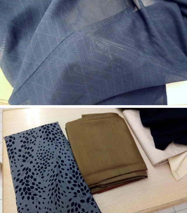 羽織と紬の着物がキレイになった