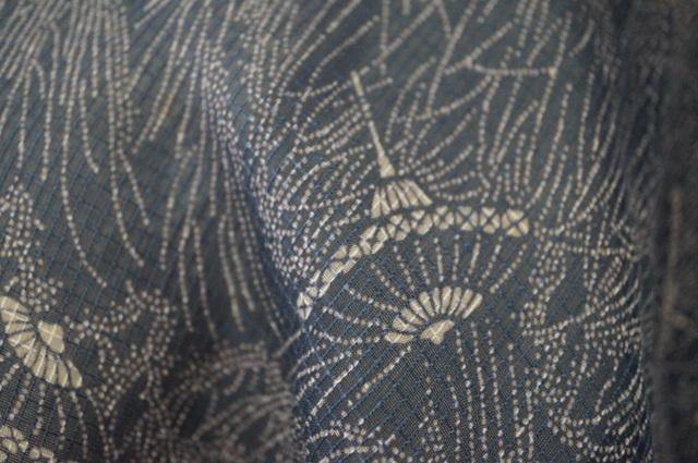 蛇の目傘模様