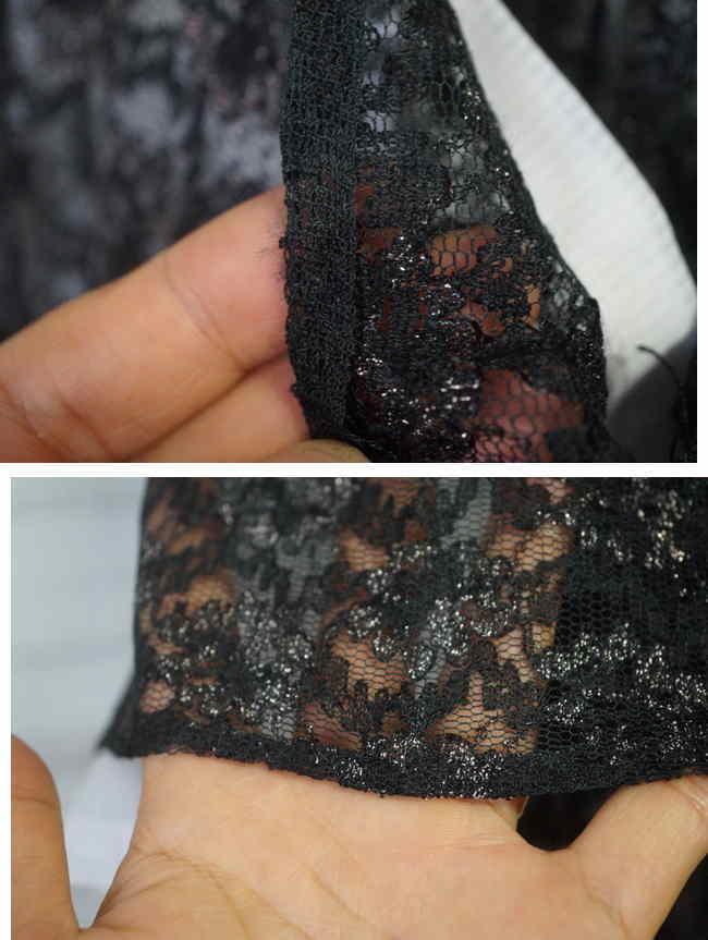 laceの質感