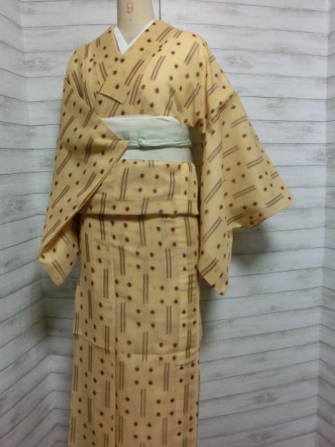 琉球夏絣着物