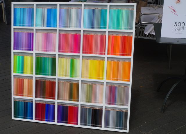500色の色えんぴつイベント