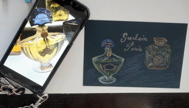 香水のカード
