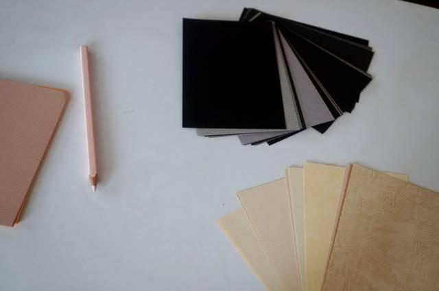 描きたくなる紙、500種類。
