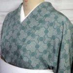 毘沙門亀甲江戸小紋