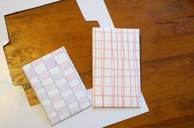 ポチ袋作り方型紙
