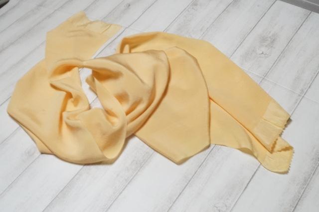 帯揚げ黄味色1