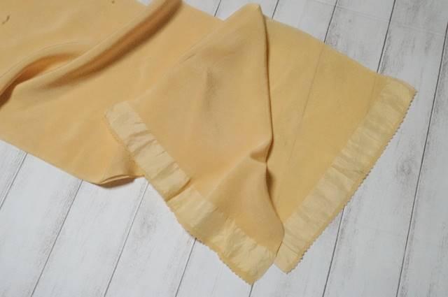 帯揚げ黄味色3