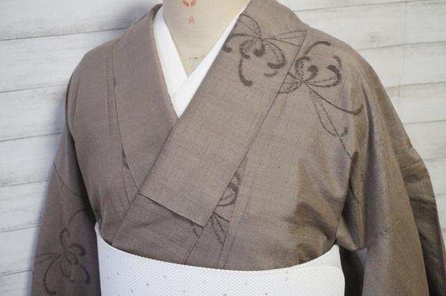 真綿紬の菊