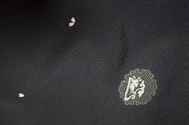 小紋の雪輪と兎