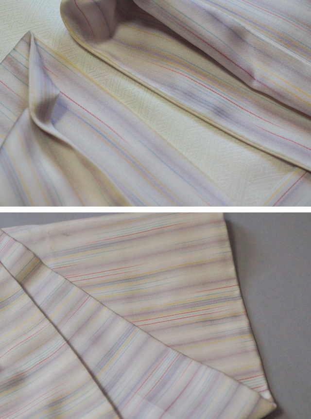 袖口と裾の汚れ