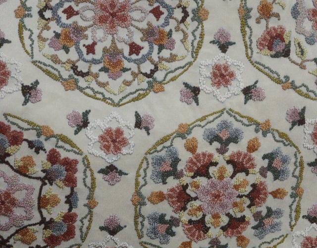 相良刺繍の名古屋帯