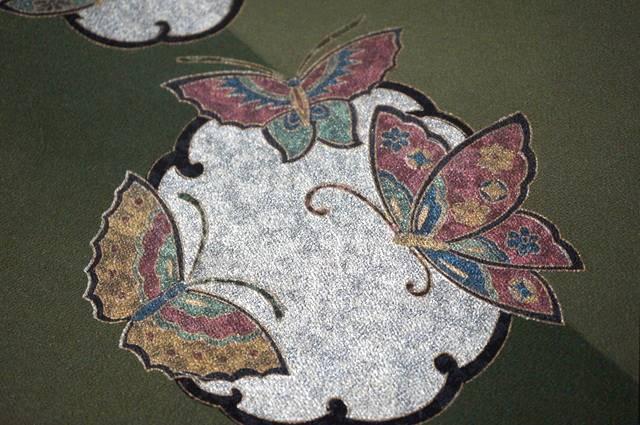 箔置き蝶々