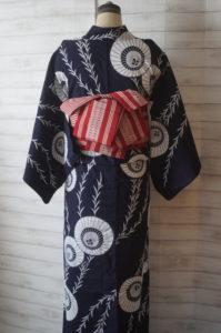 骨董市浴衣