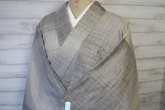 小千谷紬の単衣