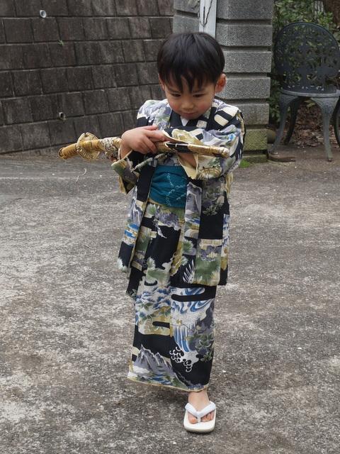 男の子3歳着物