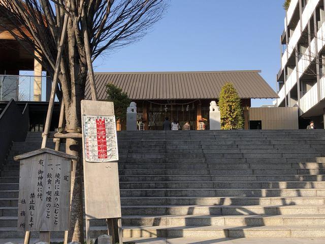 赤城神社階段