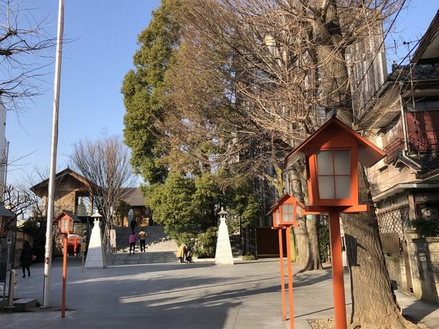 赤城神社参道