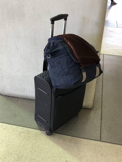 着物一式入ったスーツケース