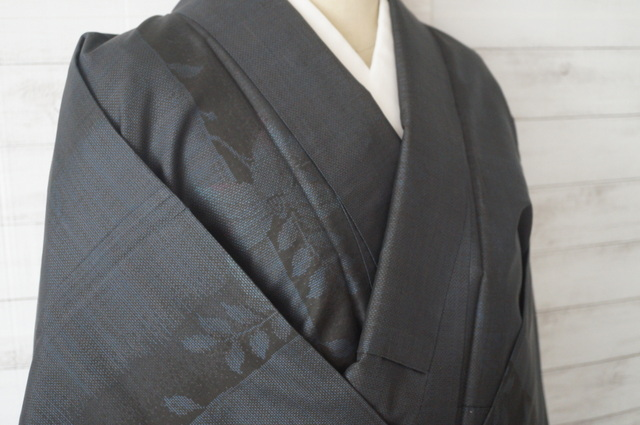 大島紬の衿