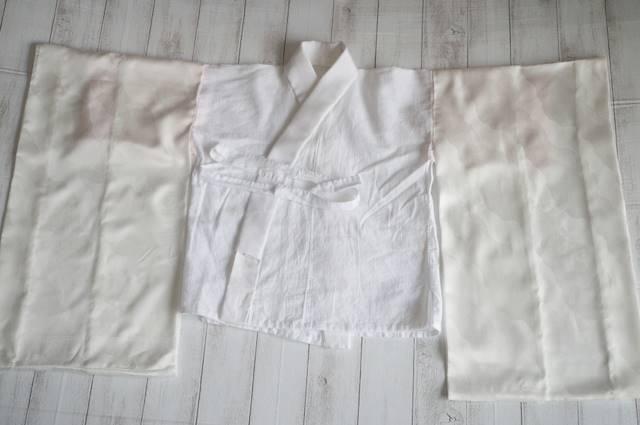 子ども用の半無双袖