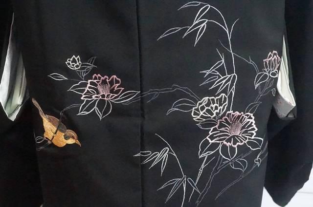 花鳥柄絵羽羽織