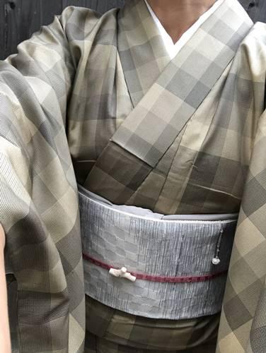単衣大島紬