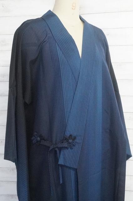 雨コート着物衿薄物