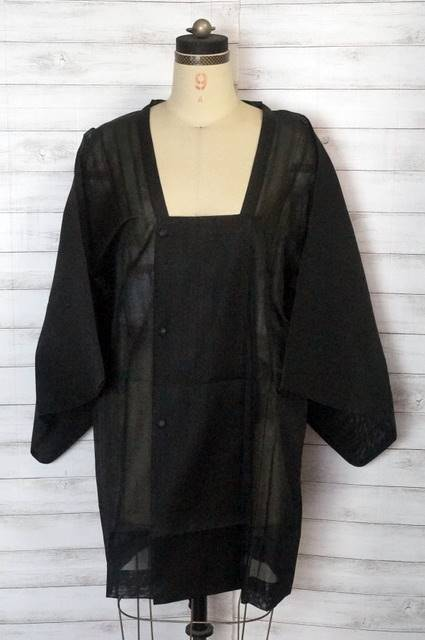 黒絽コート