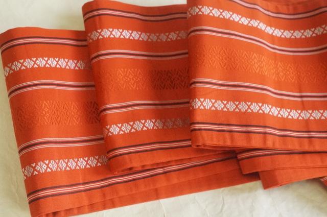 博多織りの半幅帯