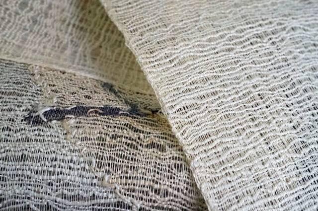 織りのアップ