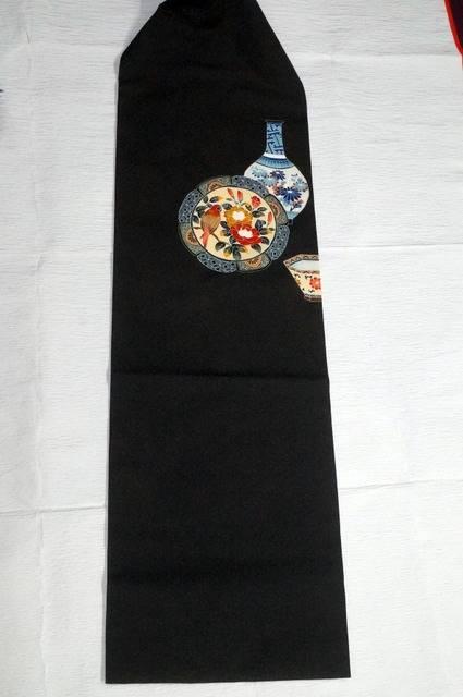 羽織を名古屋帯へ直した例