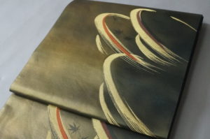 引き箔洒落袋帯