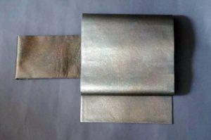 引き箔グラデ袋帯