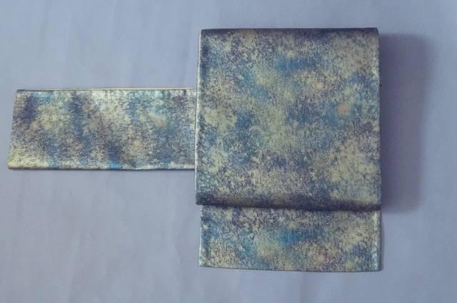 引き箔織り帯
