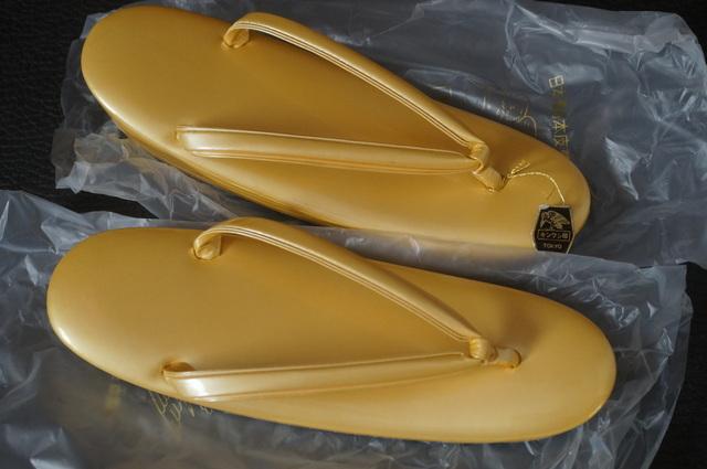 金鷲東京謹製2の5枚芯本革草履