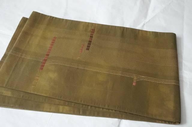 いぶし金袋帯