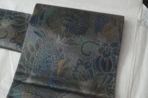 玉篠更紗袋帯