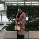 単衣羽織と久留米木綿